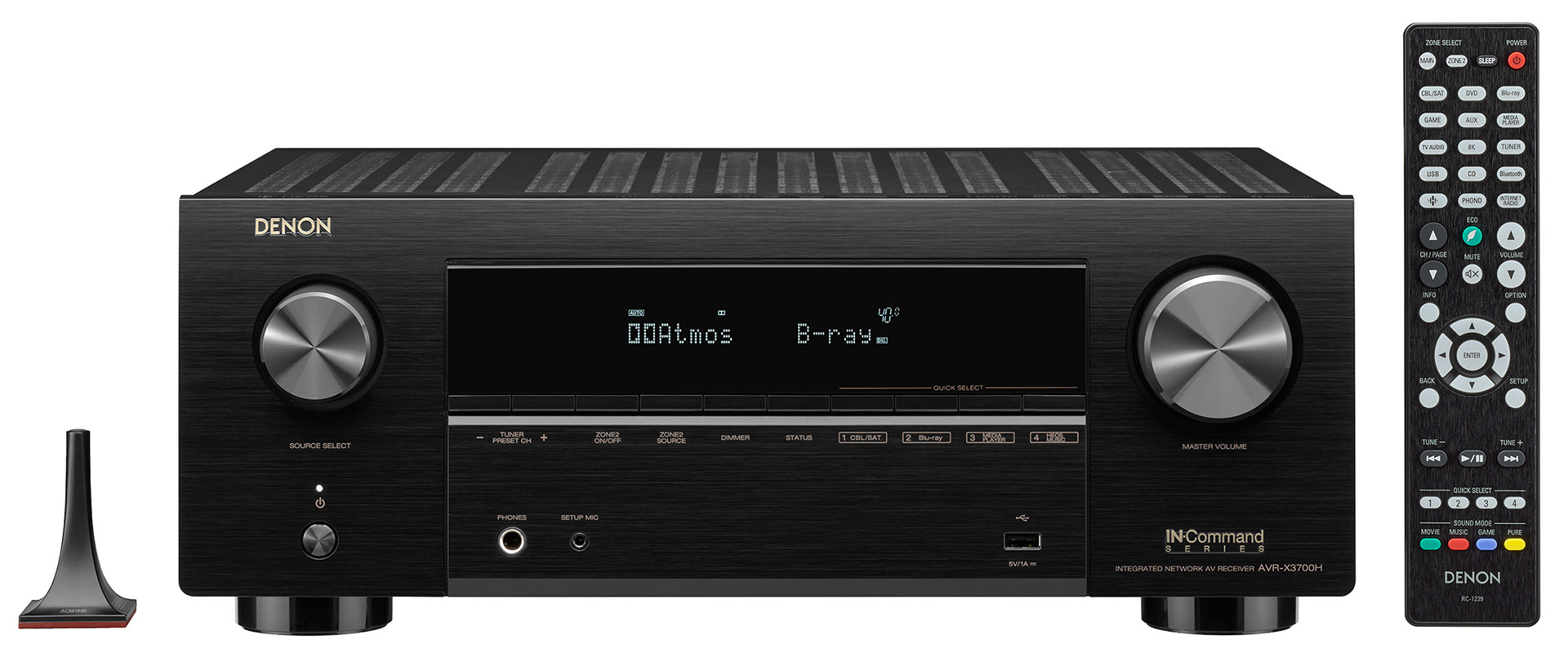 Denon AVR-X3700H Home Theater Receiver