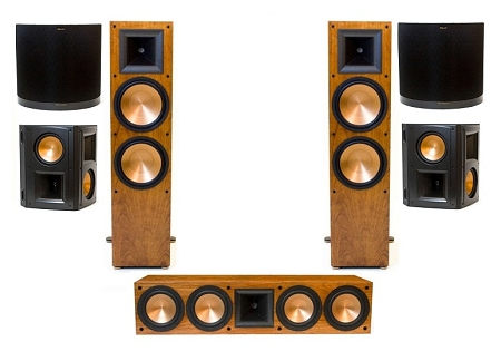 Klipsch RF-7 II Mega 7.0 Home Theatre System - Black or Cherry