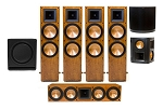 Klipsch RF-7 II  Ultra 7.1 Home Theatre System - Cherry