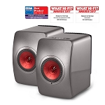KEF LS50 Wireless Monitor Speakers (Titanium)