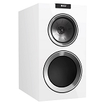 KEF R300 Bookshelf Speaker - Piano White (Pair)