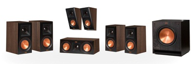 Klipsch Reference Premier RP-600M 5.1.2 Dolby Atmos Home Theater System (Walnut)