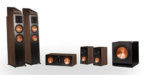 Klipsch Reference Premier RP-6000F 5.1.2 Dolby Atmos Home Theater System (Walnut)