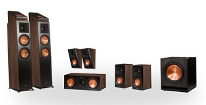 Klipsch Reference Premier RP-6000F 7.1.2 Dolby Atmos Home Theater System (Walnut)