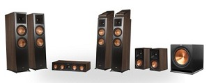 Klipsch Reference Premier RP-8060FA 7.1.4 Dolby Atmos Home Theater System (Walnut)
