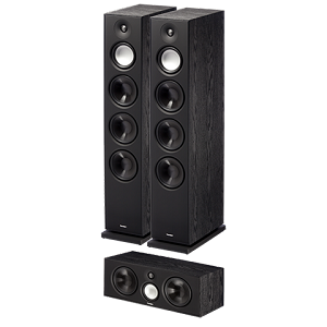 Paradigm Monitor 11 v7 Tower Speakers with Monitor 3 v7 Center Channel Bundle